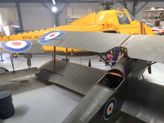 Inside the RAF Manston Museum